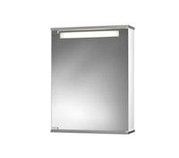 Spiegelschrank Cento 50 LS weiß/aluoptik