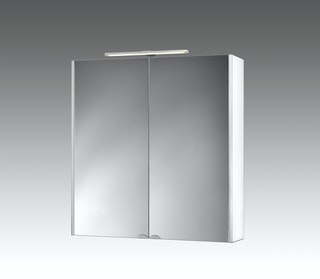 Spiegelschrank Dekor ALU-LED 65,5cm