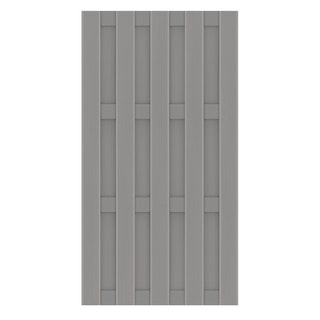 TraumGarten Jumbo WPC Alu-Design 95x179 cm