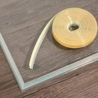 JUSTUS Dichtlippe für Glasbodenplatten