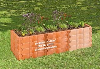 Juwel Hochbeet PROFILINE Erweiterungs-Set terracotta