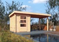 Karibu Woodfeeling Gartenhaus Bastrup 1 - 28 mm