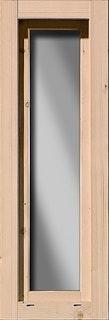 Karibu längliches feststehendes Fenster 60 x 170 cm - 38 mm