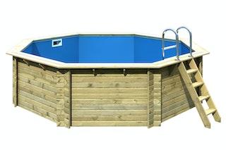 Karibu Pool Modell 2 A/B/C/D - kesseldruckimprägniert