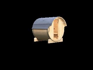 Karibu Saunahaus Fasssauna 1 - 42 mm