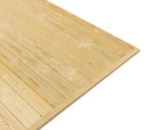 Karibu Fußboden zu Modell Tonnendachhaus 1/2/3