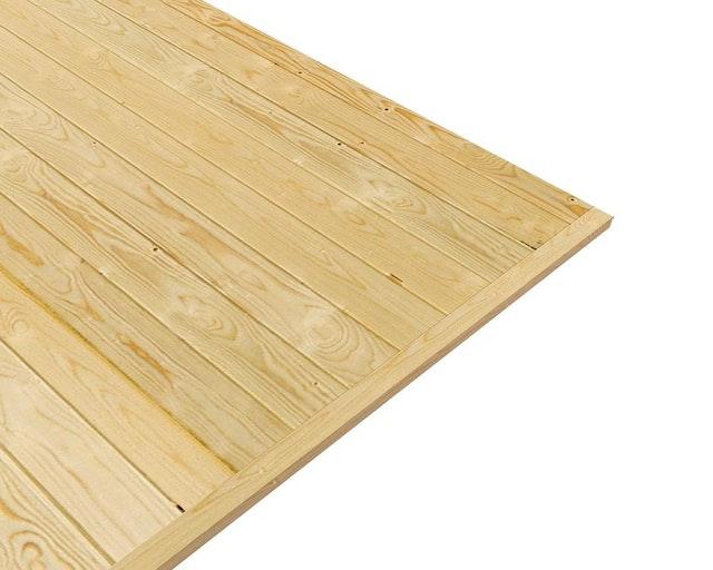 Unterkonstruktion Fußboden Im Gartenhaus ~ Fußboden zu karibu 19 mm gartenhaus mühlendorf 3 4 5