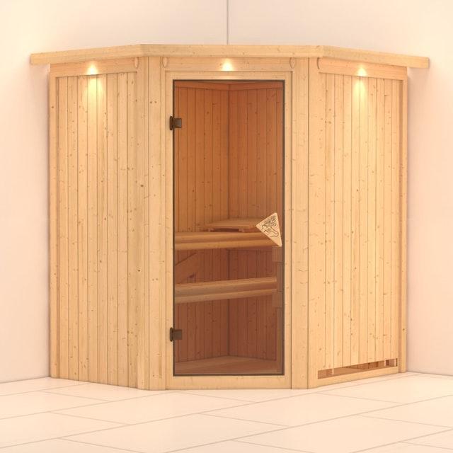 Karibu Sauna Tonja 230 Volt Sparset