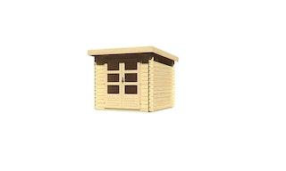 Karibu Woodfeeling Gartenhaus Bastrup 2 - 28 mm