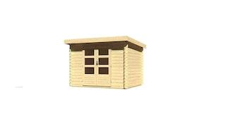Karibu Woodfeeling Gartenhaus Bastrup 3 - 28 mm