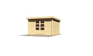 Karibu Woodfeeling Gartenhaus Bastrup 7 - 28 mm