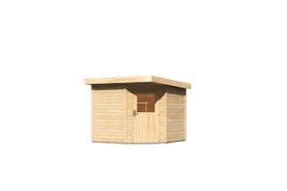 Karibu Woodfeeling Gartenhaus Neuruppin 2/3 - 28 mm
