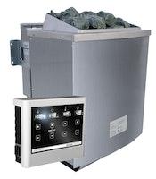Karibu 9 kW Bio-Kombiofen Saunaofen inkl. Steuergerät EASY weiß - Sparset