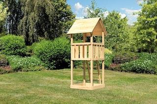 Akubi Kinderspielturm Lotti mit Satteldach