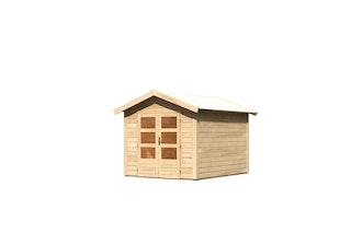 Karibu Woodfeeling Gartenhaus Tastrup 4 - 28 mm