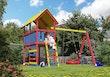 Akubi Kinderspielturm Danny Set Zirkusturm