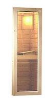 Karibu Klarglas Fenster für 38/40 mm für Saunen naturbelassen