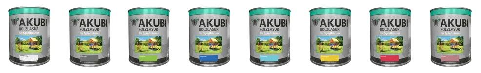 Akubi Farbsystem Farbauswahl