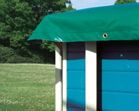 Karibu Winterabdeckfolie für Pool Modell 1+2