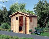 Karibu Eco Gartenhaus Gerätehaus Dalin 1 - 14 mm