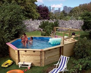 Karibu Pool Modell 1 A/B/C/D/E/F - kesseldruckimprägniert