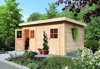 Karibu Woodfeeling Gartenhaus Mattrup - 28 mm