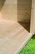 Fußboden zu Karibu 19 mm Gartenhaus Höllberg