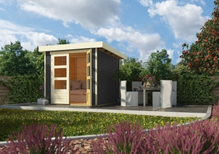 Karibu Woodfeeling Gartenhaus Askola 2/3/3,5/4/5/6 - 19 mm