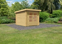 Karibu Woodfeeling Gartenhaus Bastrup 4 - 28 mm