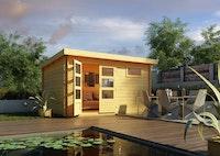 Karibu Woodfeeling Gartenhaus Bastrup 8 - 28 mm