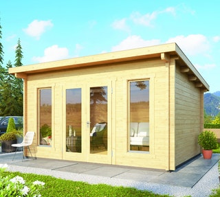 Karibu Woodfeeling Gartenhaus Stavanger 1/2/3 - 70 mm