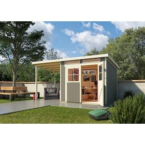 Top Gartenhaus mit Pultdach jetzt günstig bestellen | Mein-Gartenshop24.de OT02