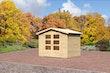 Karibu Gartenhaus Oldenburg 3 naturbelassen - Moin Aktion