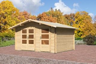 Karibu Gartenhaus Cuxhaven 1 naturbelassen - Moin Aktion