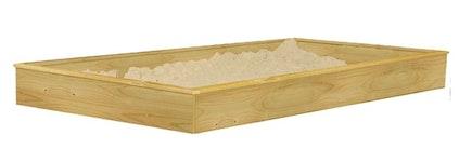 Mit Sandkasten-Element