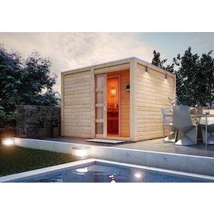 Saunahäuser werden zum Höhepunkt im Garten | Mein-Saunashop.de