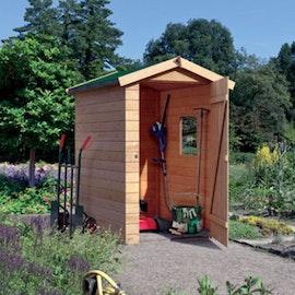 Gerätehaus Aus Holz Für Gemütliches Flair Mein Gartenshop24de