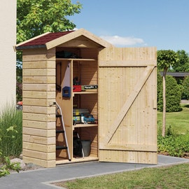 Relativ Gerätehäuser aus Holz, Biohort Metall Gerätehaus & Schuppen | Mein FF78