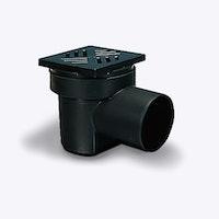 KESSEL 36501 - Kellerablauf 150 x 150 mm mit Geruchsverschluss