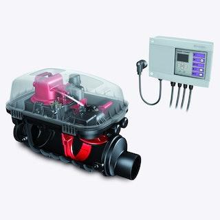 KESSEL 24200 - Rückstaupumpanlage Pumpfix F Komfort für freiliegenden Einbau - DN 200