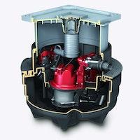 KESSEL 28704-C - Abwasserstation Aqualift F Compact Duo - Unterflurinstallation