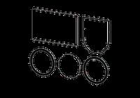 Kessel 70116 - Dichtungsset DN 125