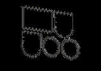 Kessel 70118 - Dichtungsset DN 200