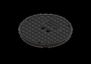 Kessel 680313 - Abdeckplatte d=400 mm, Kl. D 40t