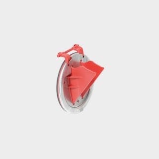 KESSEL - Rückstaudoppelverschluss für Einbau in die Bodenplatte - befliesbare Abdeckung