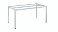 Kettler Tischgestell CUBIC 140 x 70 cm Aluminium silber