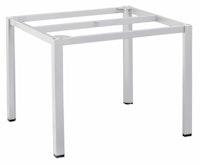 Kettler Tischgestell CUBIC 95 x 95 cm Aluminium silber