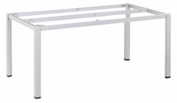 Kettler Tischgestell CUBIC 160 x 95 cm Aluminium silber
