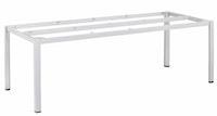 Kettler Tischgestell CUBIC 220 x 95 cm Aluminium silber
