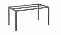 Kettler Tischgestell CUBIC 140 x 70 cm Aluminium anthrazit